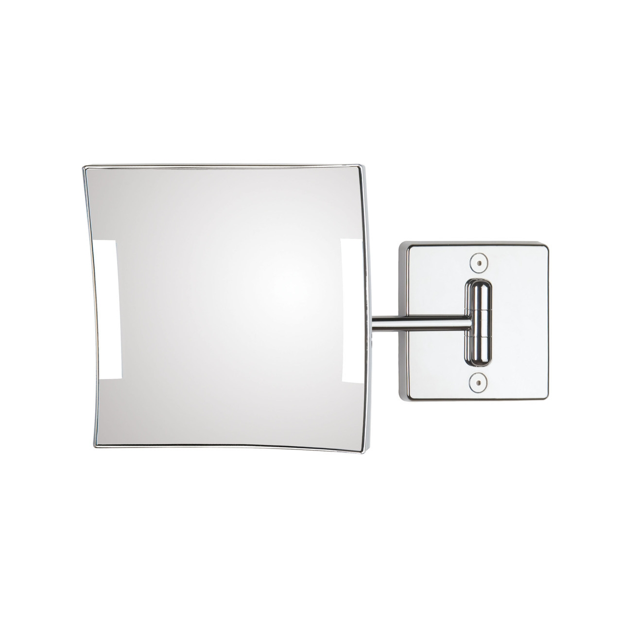 Quadrolo 1-Arm Hard Wired LED Magnifying Mirror 3x