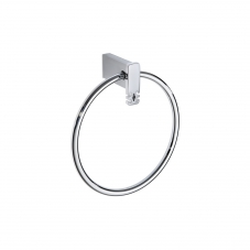 Damasc DM 3207 Towel Ring in Polished Chrome