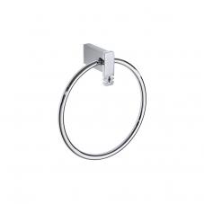 Damasc DM 3207 Towel Ring in Polished Chrome