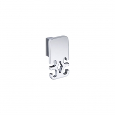 Damasc DM 3208 Double Bathroom Hook in Polished Chrome