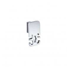 Damasc DM 3208 Double Bathroom Hook in Polished Chrome
