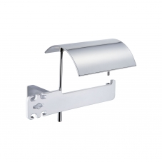 Damasc DM 3211C Toilet Paper Holder with Cover in Polished Chrome
