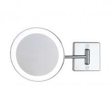 Discolo led wall mirror single arm 3x