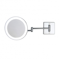 Discolo led wall mirror 2 arms 3x
