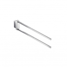 Divo A15150 Double Swing Towel Bar in Polished Chrome