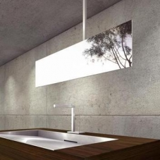 Hydrus CL 33 ceiling mirror stainless steel