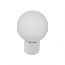 P906 Vanity Unit Knob in Frosted Glass