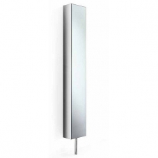 Pika stainless steel turning cabinet with mirror