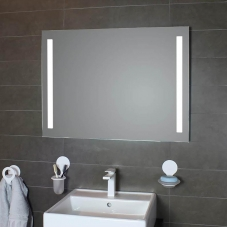 Simply LED Lighted Bathroom Wall Mirror